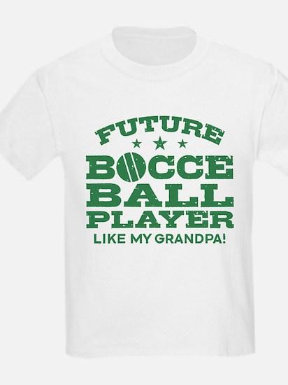 Future Bocce Ball Player Like M T-Shirt