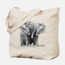 Love Elephants! Tote Bag