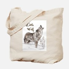 Funny Wolf Tote Bag