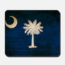 Vintage Flag of South Carolina Mousepad