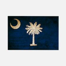Vintage Flag of South Carolina Rectangle Magnet