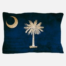 Vintage Flag of South Carolina Pillow Case