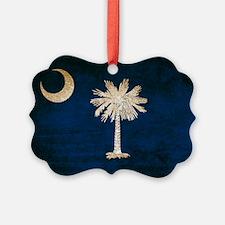 Vintage Flag of South Carolina Ornament