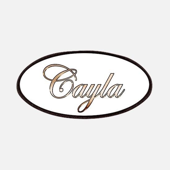 Gold Cayla Patch