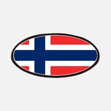 Flag of Norway Patch