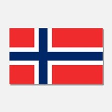 Flag of Norway Car Magnet 20 x 12