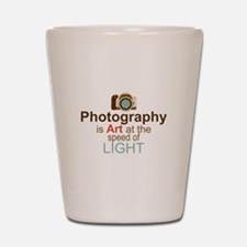 Funny Photographer Shot Glass