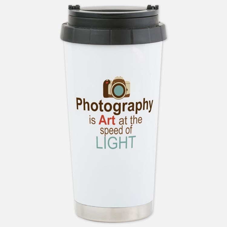 Cute Photographers Travel Mug