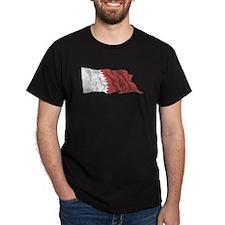 Qatar Flag (Distressed) T-Shirt