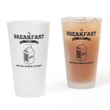 The Breakfast Club Milk Drinking Glass