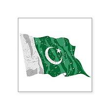 Pakistan Flag (Distressed) Sticker