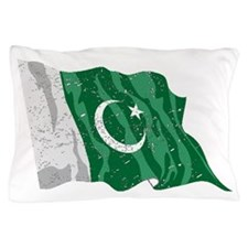 Pakistan Flag (Distressed) Pillow Case