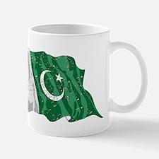 Pakistan Flag (Distressed) Mugs