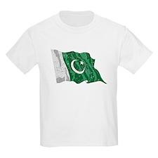 Pakistan Flag (Distressed) T-Shirt