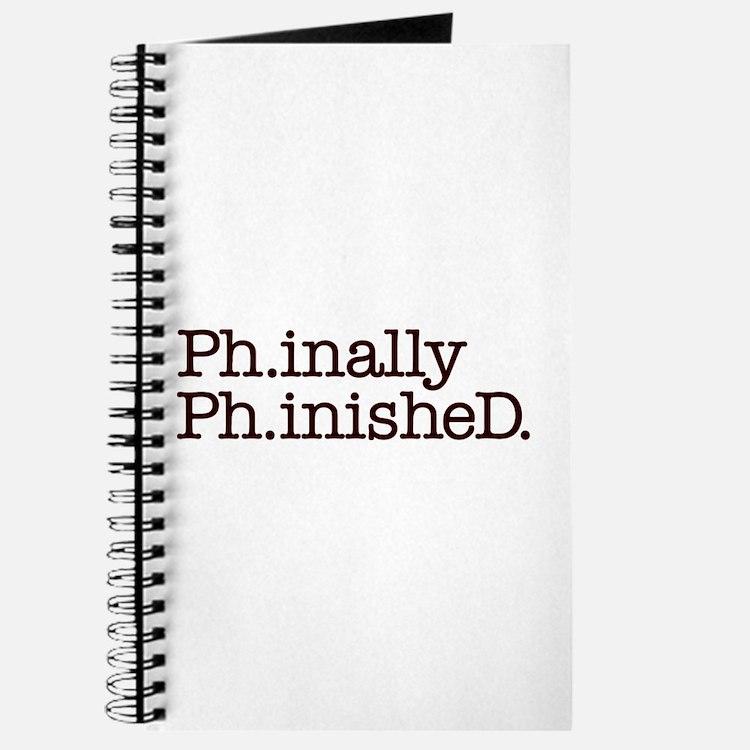 Phd Doctoral Graduate Journal