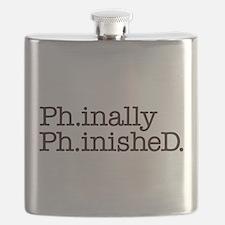 PhD Doctoral Graduate Flask