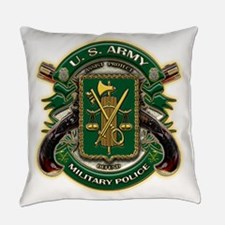 Us Army M P Military Police.png Everyday Pillow