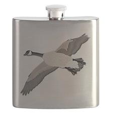 Canada goose-No Text Flask