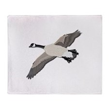Canada goose-No Text Throw Blanket