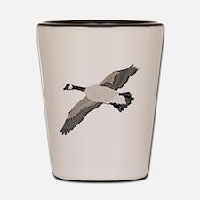 Canada goose-No Text Shot Glass