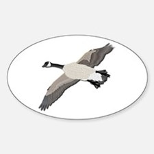 Canada goose-No Text Sticker (Oval)