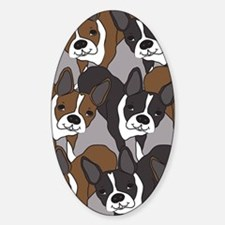 Boston Terriers Decal