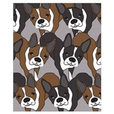 Boston Terriers Framed Print