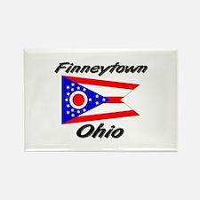 Finneytown Ohio Rectangle Magnet
