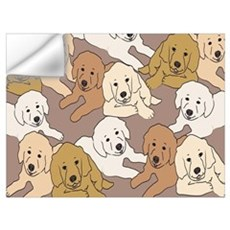 Golden Retrievers Wall Decal