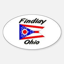 Findlay Ohio Oval Decal