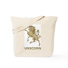 Vintage Unicorn Tote Bag