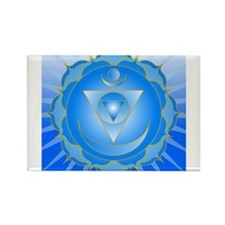 Mandala for Thraot and Brow Chakra Magnets