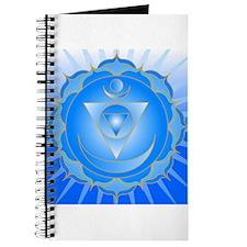 Mandala for Thraot and Brow Chakra Journal