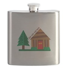 Fish Tails Flask