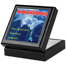Save the World Gold Mine Keepsake Box