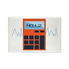 Hello Calculator Magnets