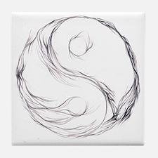 Ing & Yang Tile Coaster