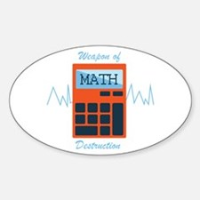 Weapon of Math Decal