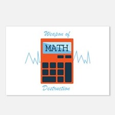 Weapon of Math Postcards (Package of 8)