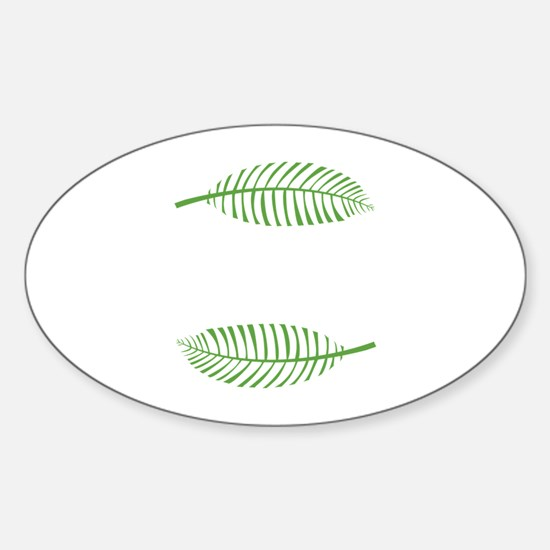 Palm Leaves Decal