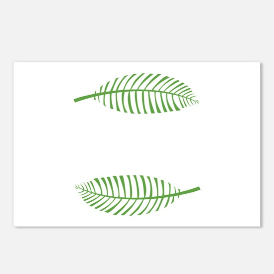 Palm Leaves Postcards (Package of 8)