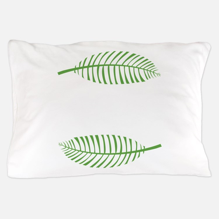 Palm Leaves Pillow Case