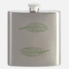 Palm Leaves Flask