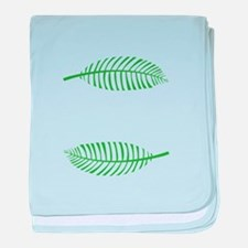 Palm Leaves baby blanket