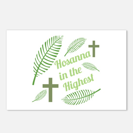 Hosanna In The Highest Postcards (Package of 8)