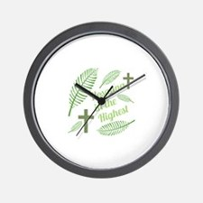 Hosanna In The Highest Wall Clock