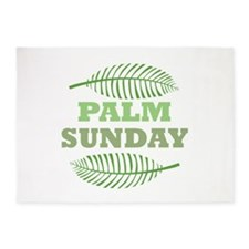 Palm Sunday 5'x7'Area Rug