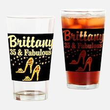 35TH BIRTHDAY Drinking Glass