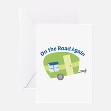 On The Road Again Greeting Cards