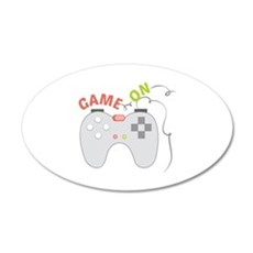 Game On Wall Decal